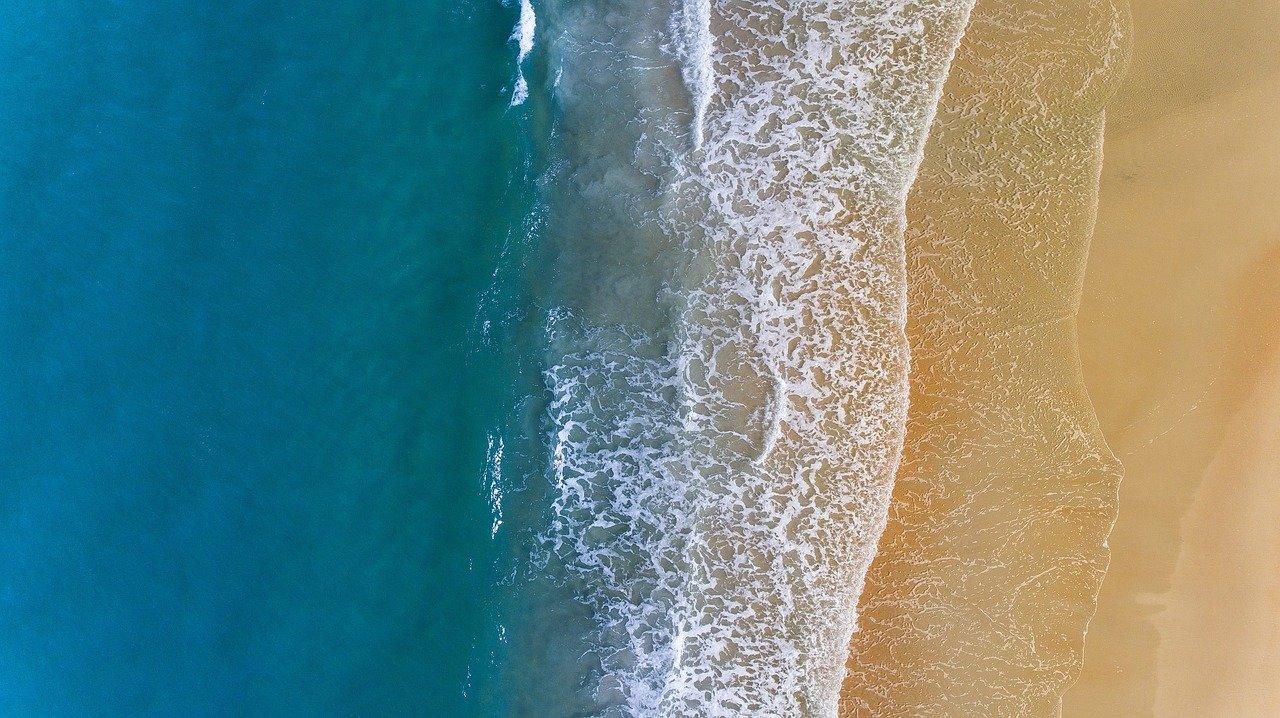 World beaches deserted