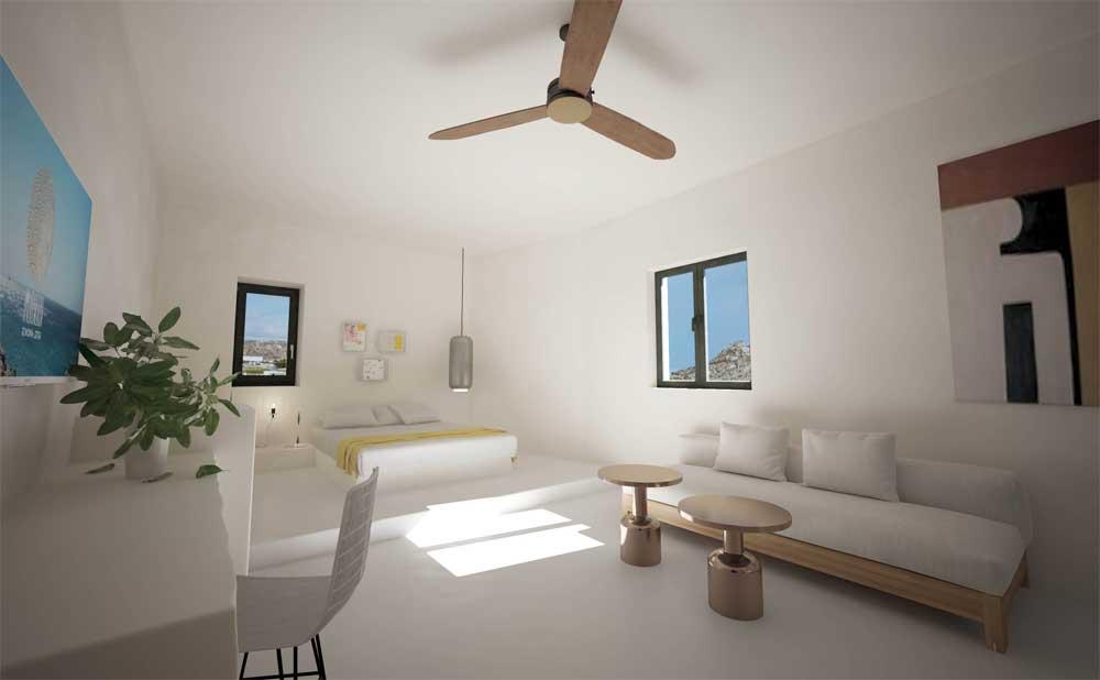 Koukoumi Hotel Mykonos deluxe suites