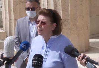 Culture Minister Lina Mendoni