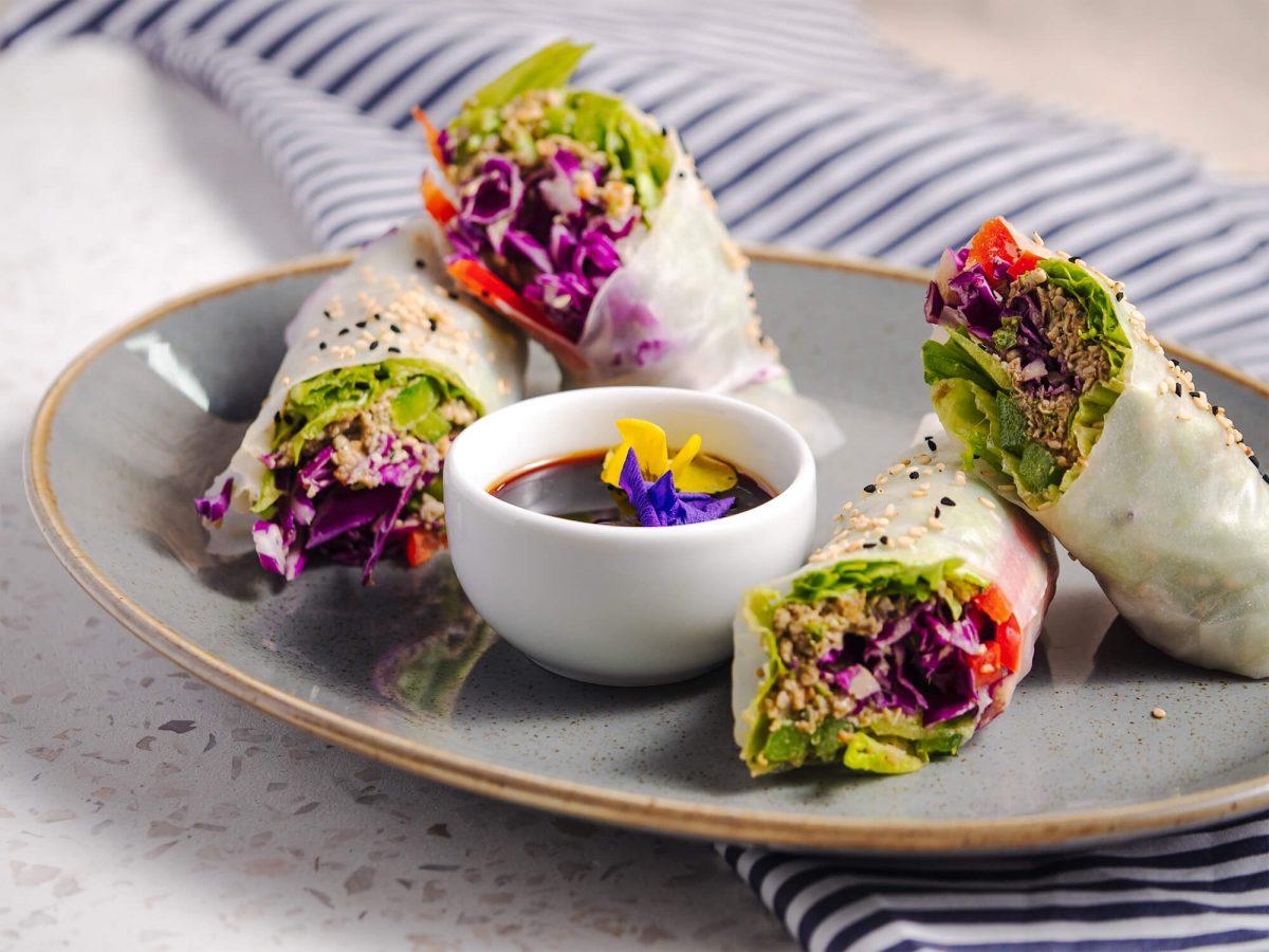 Koukoumi Hotel Mykonos vegan menu