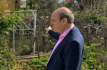 Greek Environment Minister Kostis Hadzidakis