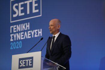 SETE President Yiannis Retsos
