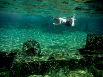 WW II Shipwreck