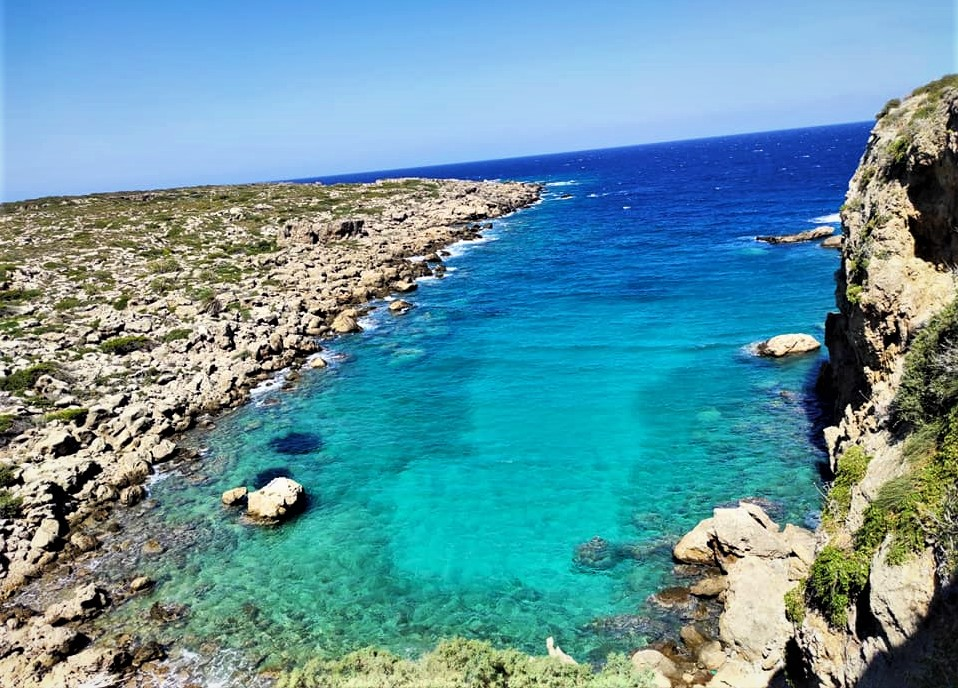 A secluded sliver of west-Crete heaven