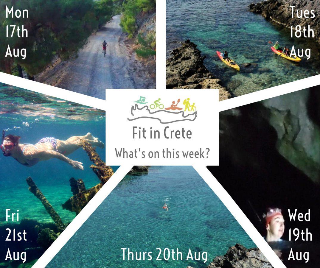 Fit in Crete adventures