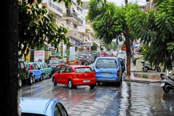 Heraklion rain