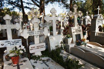Greek headstones
