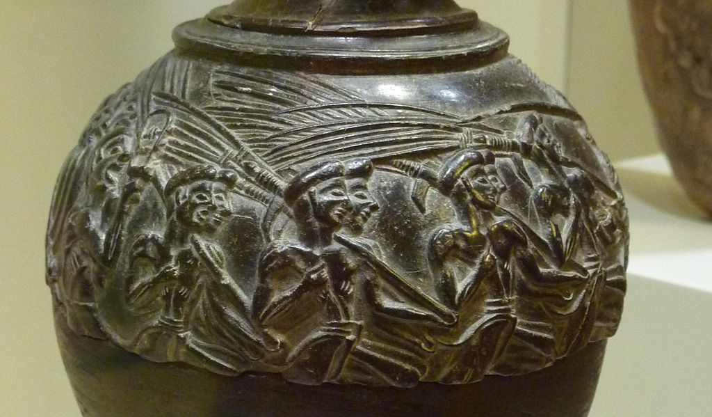 Minoan crop harvesters