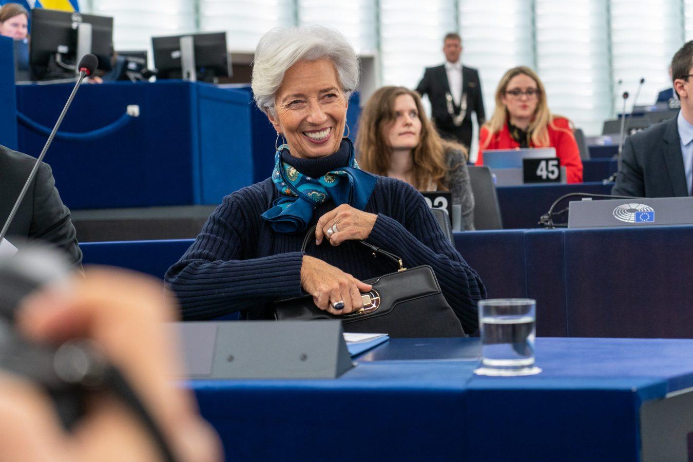 ECB Chief Lagarde via European Parliament