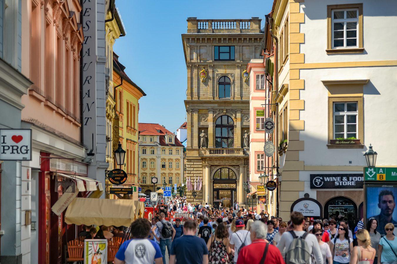 Prague sinking under the weight of tourists