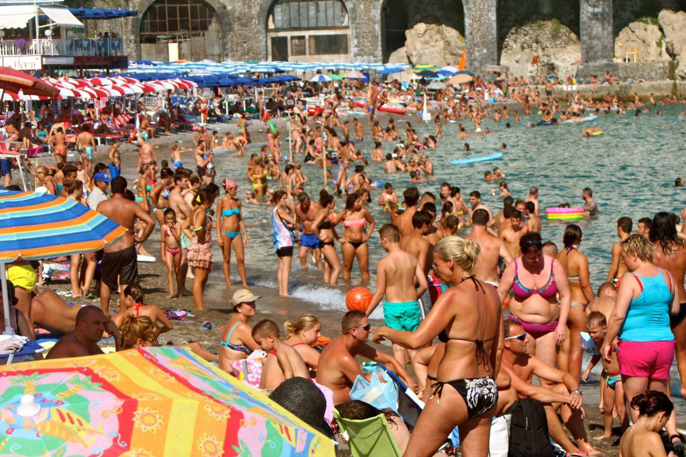 Amalfi, Italy beach