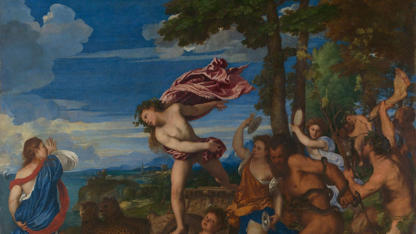 Titian | Bacchus and Ariadne