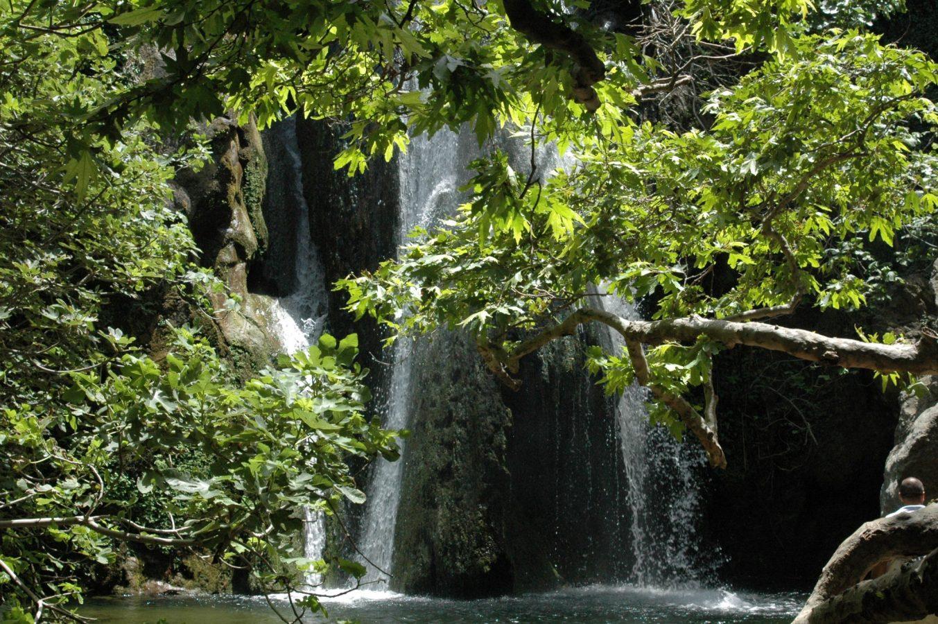 Richtis Falls in Lassithi
