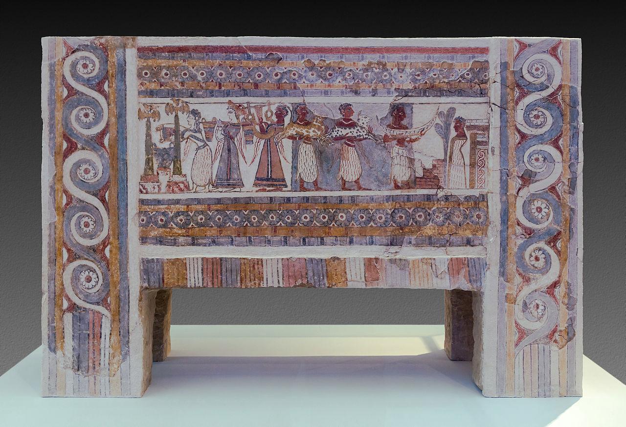 The Hagia Triada sarcophagu