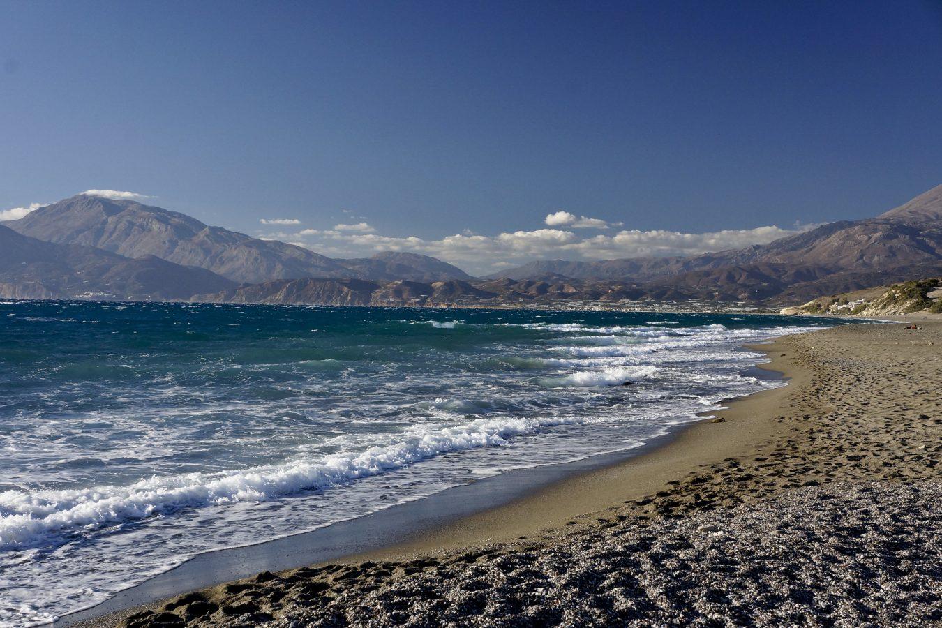 Kommos Beach on the Gulf of Mesara