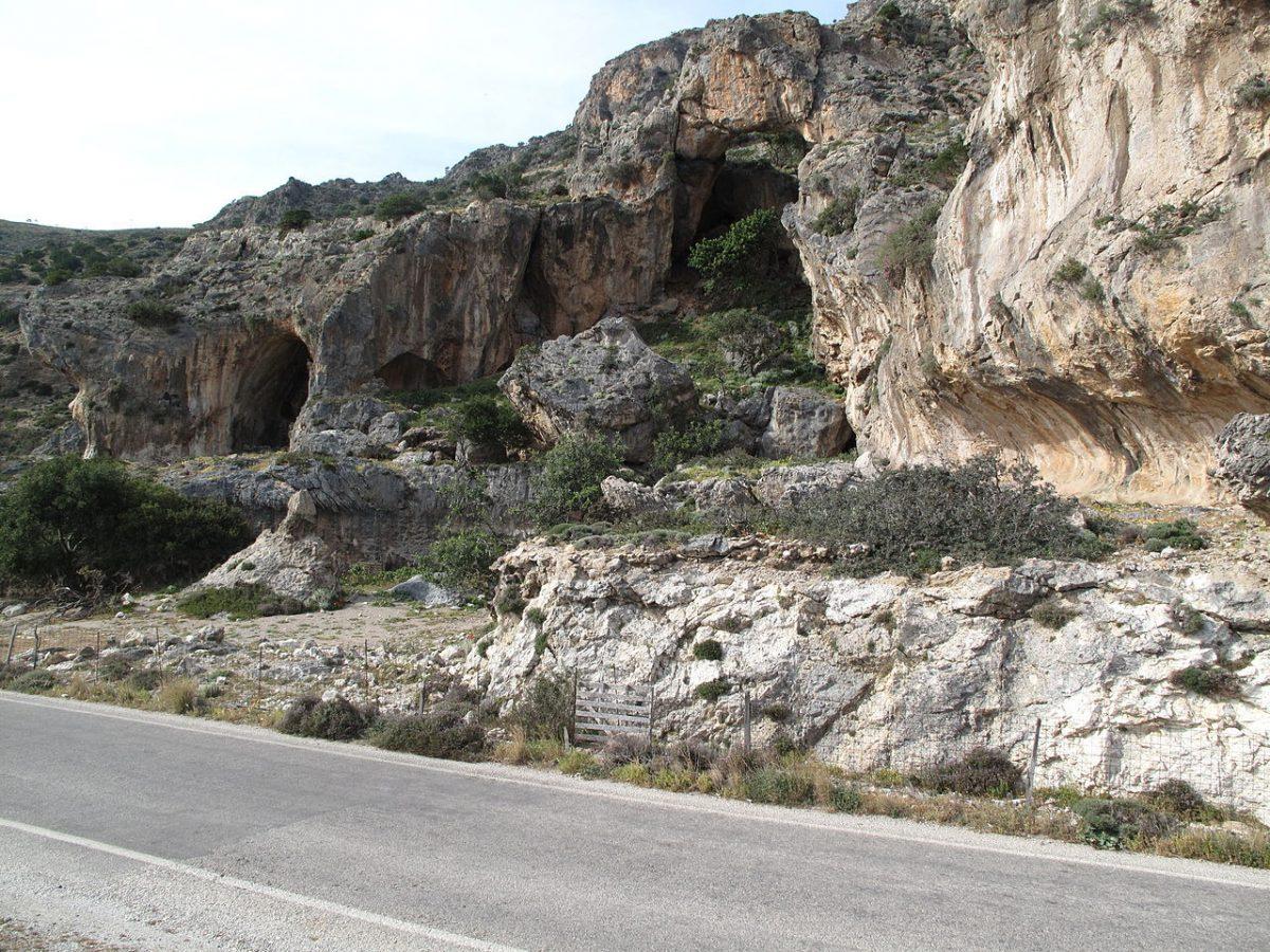 Raised beach 2 km west of Paleochora, Crete