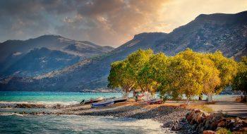 Crete shores