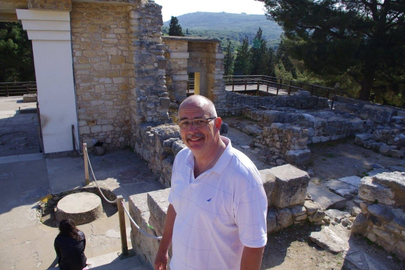 Phil Butler at Knossos