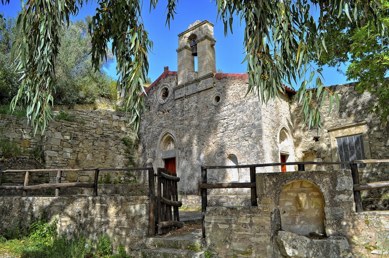 The Church of Agios Haralampos & Panagia