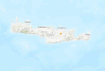 5.0 Crete Earthquake