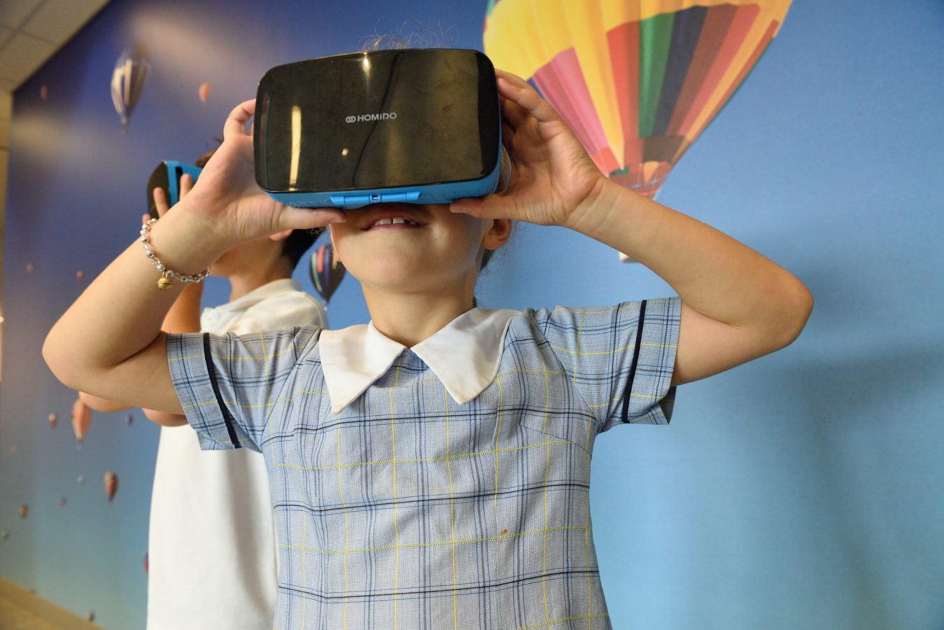 VR travel experiences for kids.