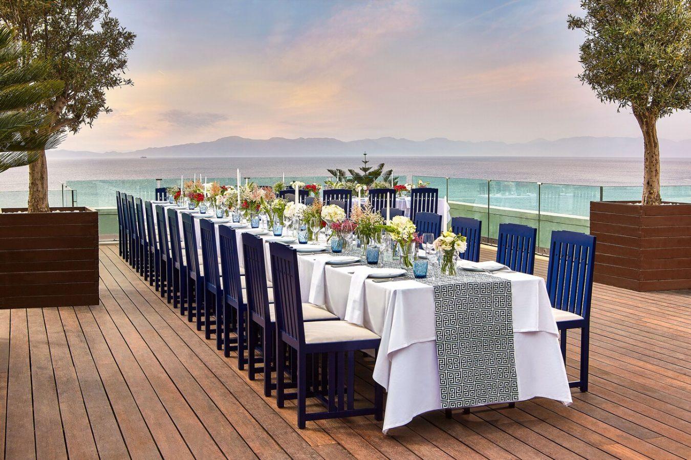 Sheraton Rhodes Resort 6th floor deck